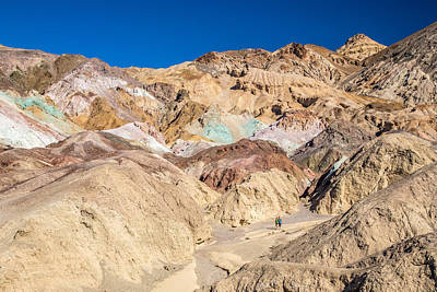 Photograph - Colorful Mountains At Artist Palette by Pierre Leclerc Photography
