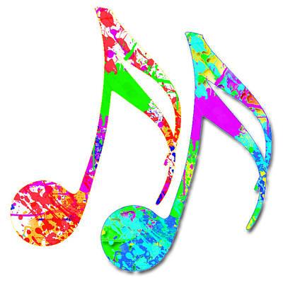 Mountain Landscape - Colorful Music 2 by Vijay Sonar