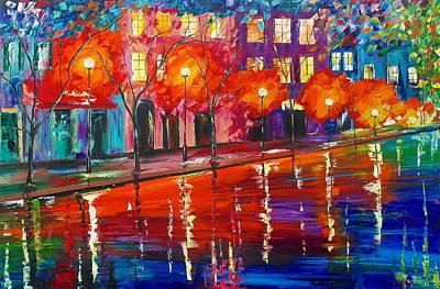 Colorful Night Art Print