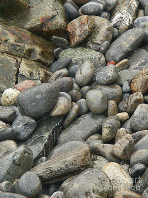 Photograph - Colorful Ocean Rocks by Jackie Farnsworth