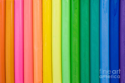 Plasticine Photograph - Colorful Plasticine Background  by G J