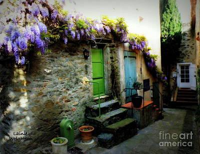 Colorful Provence Street Art Print