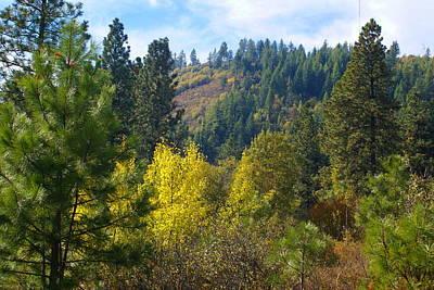 Photograph - Colorful Ridge In Spokane by Ben Upham III