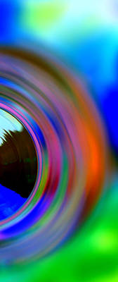 Photograph - Colorful Rings by Christine Ricker Brandt