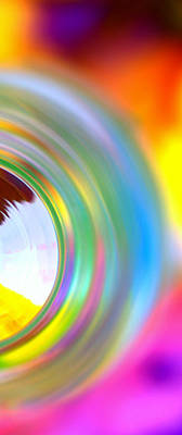 Photograph - Colorful Rings II by Christine Ricker Brandt