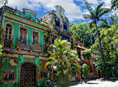 Photograph - Colorful Rio Neighborhood by Anthony Dezenzio