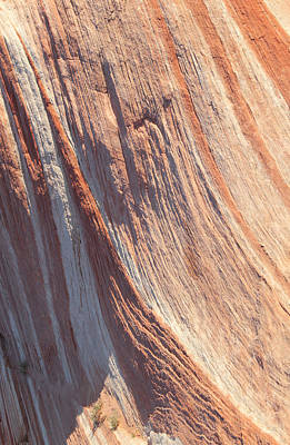 Photograph - Colorful Rock Striations by John Orsbun