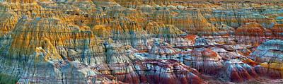 China Wall Art - Photograph - Colorful Rocks by Hua Zhu