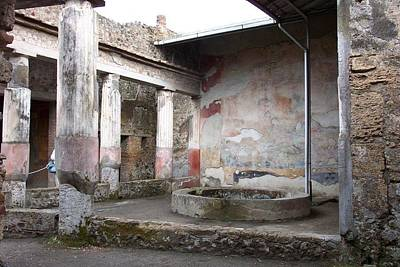 Photograph - Colorful Ruins Of Pompeii by Charlayne Grenci