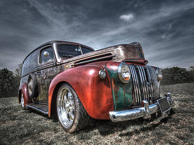 Photograph - Colorful Rusty Ford Truck by Gill Billington