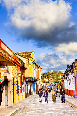 Photograph - Colorful San Cristobal De Las Casas by Mark E Tisdale
