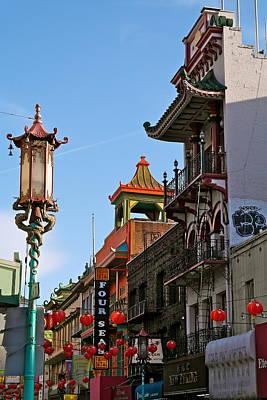 Photograph - Colorful San Francisco Chinatown by Michele Myers