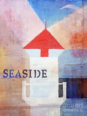 Painting - Colorful Seaside by Lutz Baar