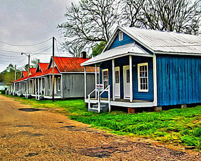 Photograph - Colorful Shotgun Houses - Best House On The Block by Rebecca Korpita