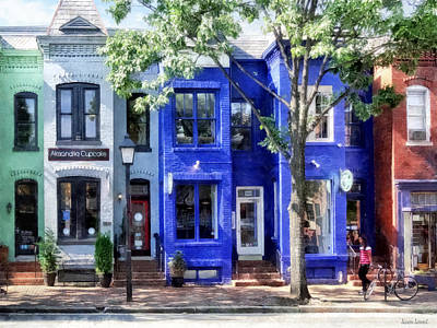 Photograph - Alexandria Va - Colorful Street by Susan Savad