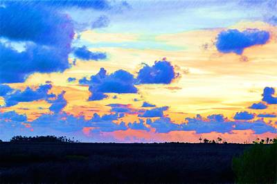 Photograph - Colorful Sunset 2 by Richard Zentner