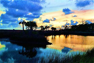 Photograph - Colorful Sunset 4 by Richard Zentner