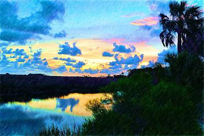 Photograph - Colorful Sunset 5 by Richard Zentner