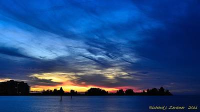 Photograph - Colorful Sunset by Richard Zentner