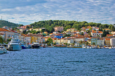 Photograph - Colorful Town Of Mali Losinj Waterfront by Brch Photography