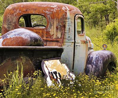 Photograph - Colorful Truck by Karin Pinkham