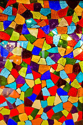 Splashy Photograph - Colorful Visions by Manu Singh