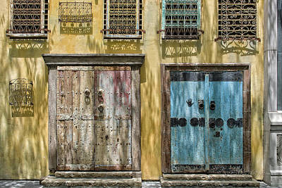 Photograph - Colorful Wall by Jim Thompson