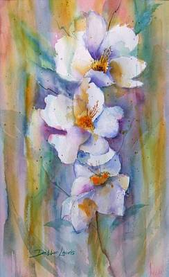 Painting - Colorful Whites by Debbie Lewis