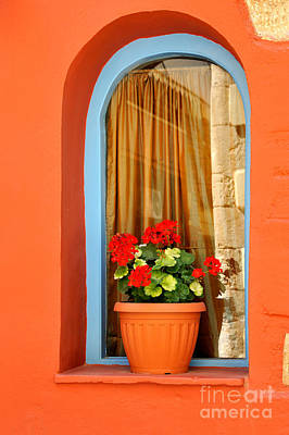Photograph - Colorful Window by George Atsametakis