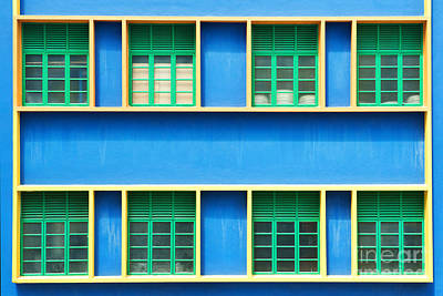 Photograph - Colorful Windows by Yew Kwang