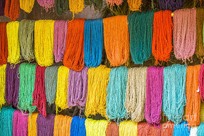 Photograph - Colorful Wool by Patricia Hofmeester
