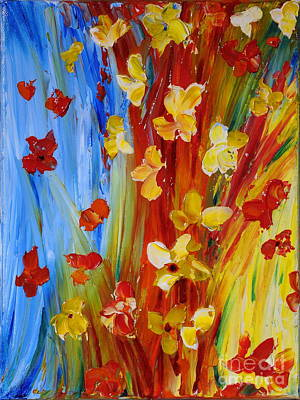 Colorful World Art Print