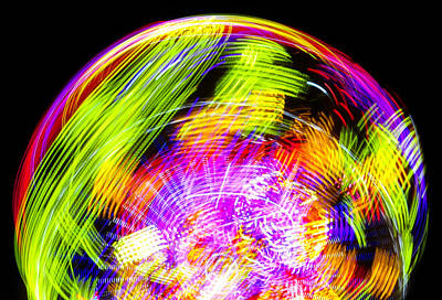 Photograph - Color Ball by David Lee Thompson
