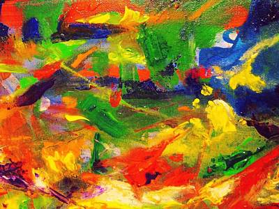 Painting - Colors 72 by Helen Kagan