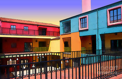Tucson Digital Art - Colors And Angles - 3 by Linda  Parker