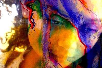Photograph - The Mask by Jodie Marie Anne Richardson Traugott          aka jm-ART