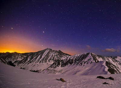 Torreys Peak Photograph - Colors Of A Colorado Overnight by Mike Berenson