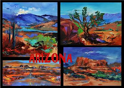 Painting - Colors Of Arizona by Elise Palmigiani