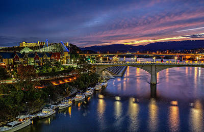 Colors Of Chattanooga  Art Print by Sora Photography