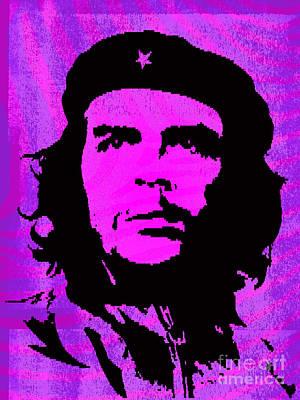 Che Digital Art - Colors Of Che No.1 by Bobbi Freelance