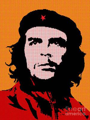 Argentina Digital Art - Colors Of Che No.3 by Bobbi Freelance