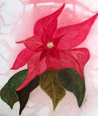 Painting - Colors Of Christmas by Joan Zepf