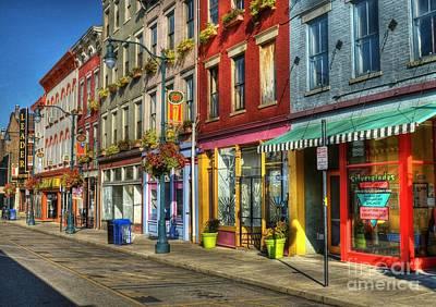 Colors Of Cincinnati Art Print by Mel Steinhauer