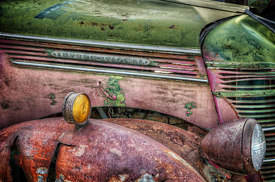 Colors Of Corrosion Art Print by Michael Gass