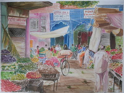 Colors Of Everyday Life Print by Ambbali Dutta