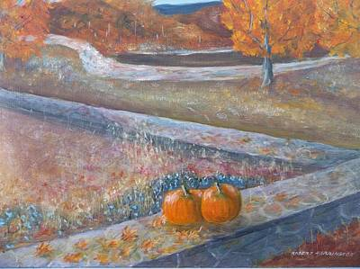 Painting - Colors Of Fall by Robert Harrington
