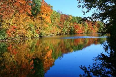 Colors Of Fall Art Print by Susan  McMenamin