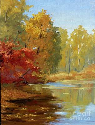 Painting - Colors Of Fall by Viktoria K Majestic