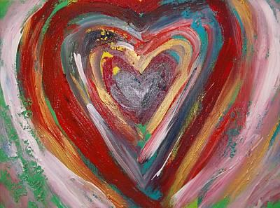 Painting - Colors Of Heart by Katharina May