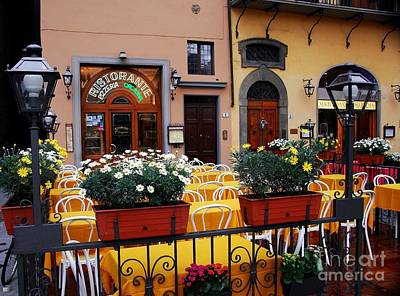 Colors Of Italy Print by Mel Steinhauer